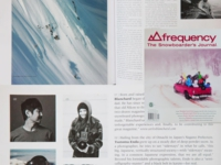 Japanese snowboard photographer